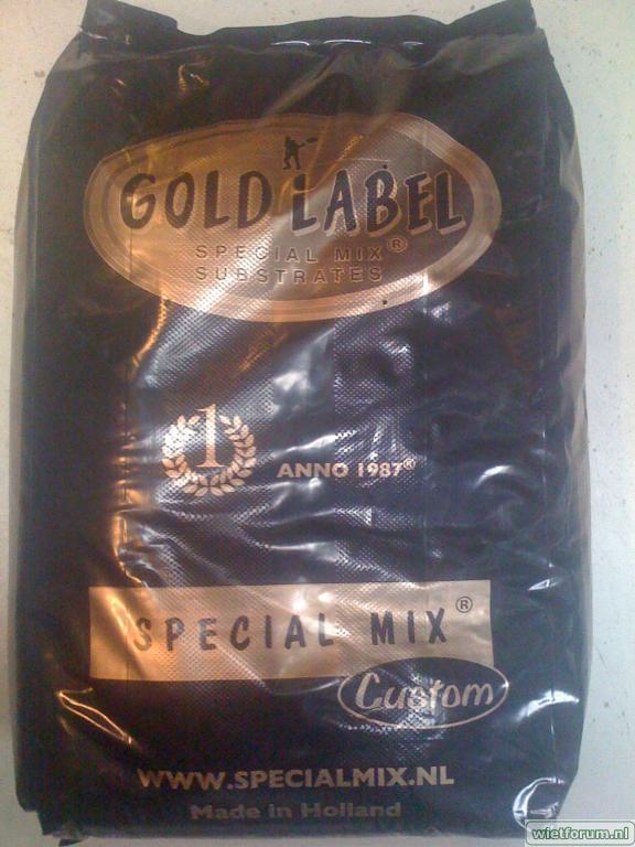 gold label special mix custom