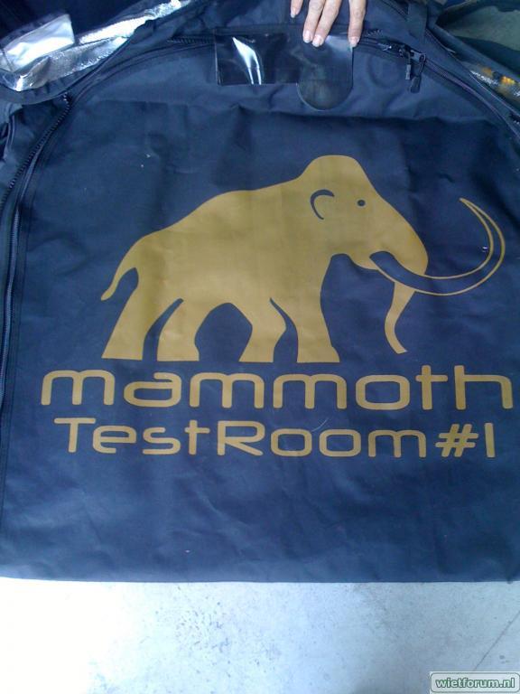 Mammoth test kweektent wietforum
