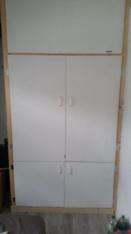 DIY Hok (120B x 90L x 255H)