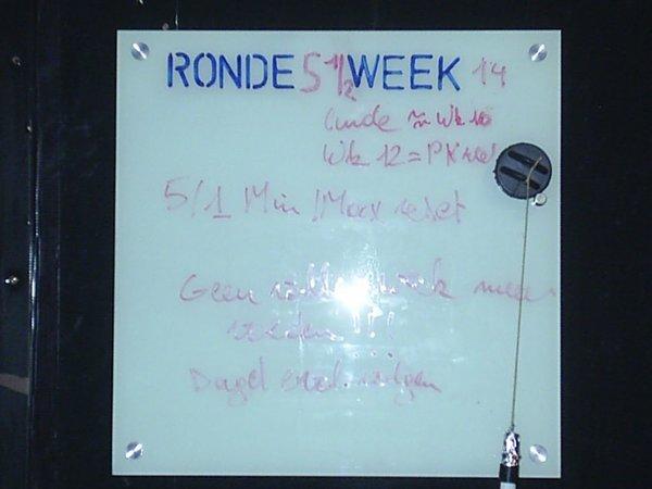 Ronde 5   Week  13 0003