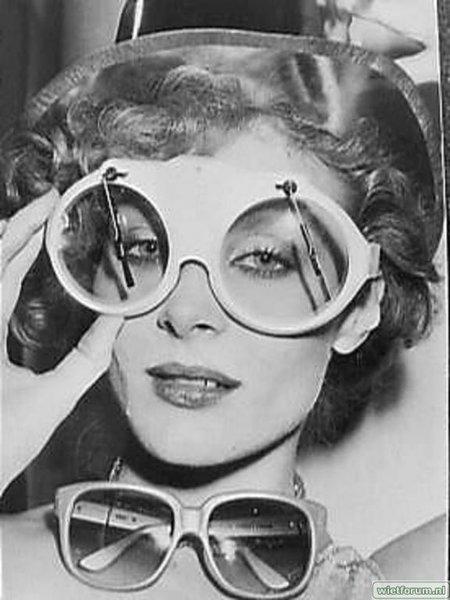 bril met ruitenwisser