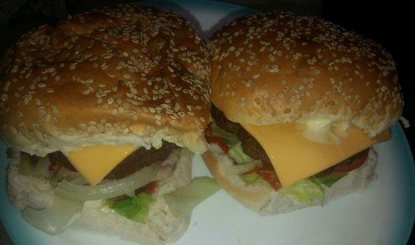 Hamburgers BBQ 1