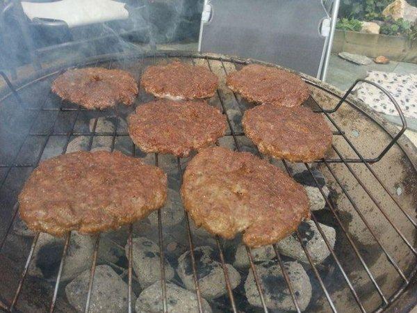 Hamburgers BBQ