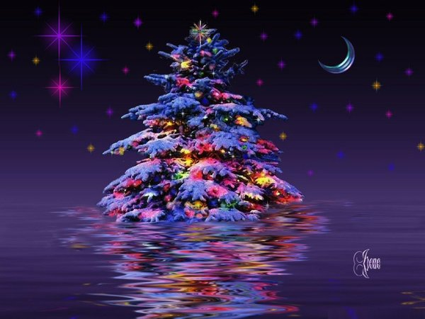 3d christmas desktop backgrounds free 1