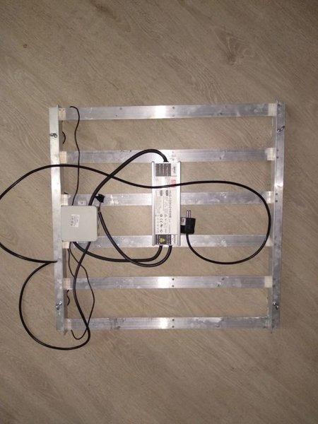 LED strips + armatuur af