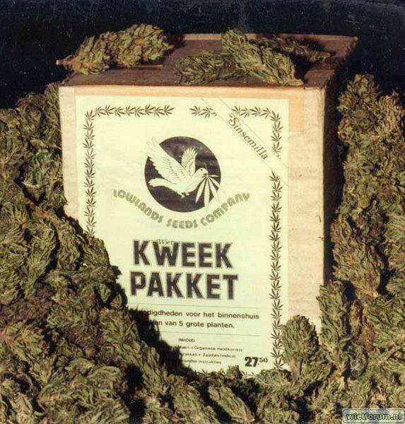Kweek/zaaipakkket Lwlands Seeds Company 1981